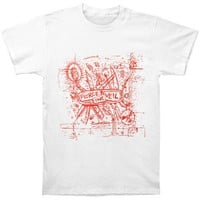 Pierce The Veil Men's  Misadventures T-shirt White