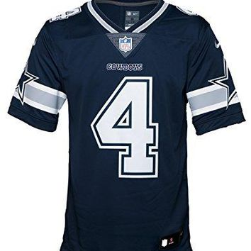 Nike Men's NFL Dallas Cowboys Dak Prescott Limited (Stitched) Jersey - Navy