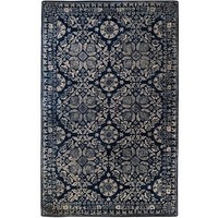 Vienna Medallion Navy Blue Rug