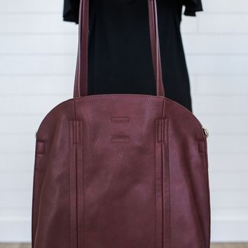 The Every Girl 2 in 1 Tote - Wine