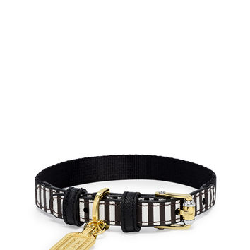 Influencer Leather Pet Collar | Henri Bendel