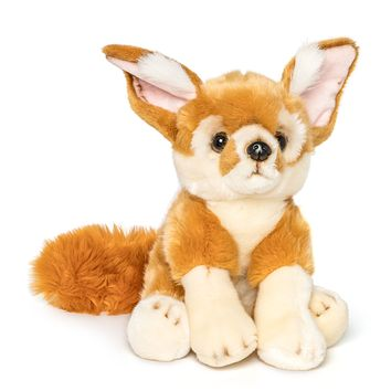 12 Inch Stuffed Fennec Fox Plush Floppy Animal Kingdom Collection