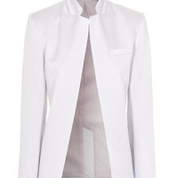 T BY ALEXANDER WANG  Shiny Crepe Angle Rose Schimmernder Blazer - What's new