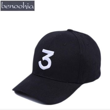 BBS0100 Fashion Black Unisex Casual Baseball Cap Sport Hat 3 Embroidery Adjustable Snapback Caps Casquette Gorras Bones