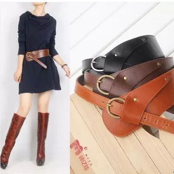 *Online Exclusive* Pu Leather Waist Belts