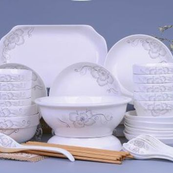 Bowls dishes tableware Chinese  bowls dishes pots combination sets