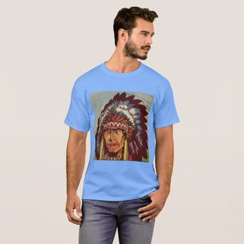Native American Headdress Chief T-Shirt