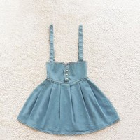 A 082705 aaa High waist retro fashion denim skirt tutu