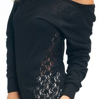 """SA """"Laid Back"""" Sweater by Sullen Clothing (Black)"""