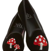 ModCloth Menswear Inspired Make Shroom for Me Flat