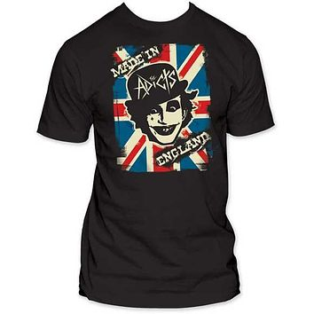The Adicts 'Made In England' Mens T-Shirt