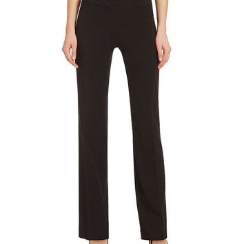 Investments the PARK AVE fit Pull-On Modern Straight Leg Pant   Dillards