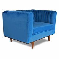 Laurel Velvet Accent Chair