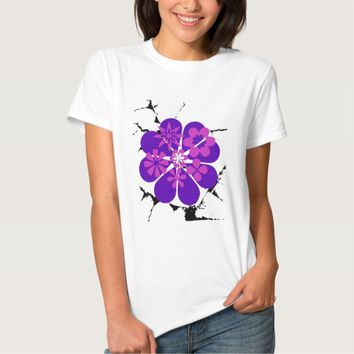 purple and pink flowers T-Shirt