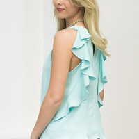 Everly Ruffle Top