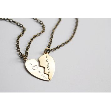 I Love You I Know Star Wars Friendship Necklaces