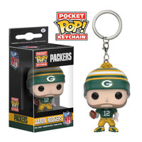 FunKo POP! Green Bay Packers Aaron Rodgers Keychain