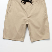 Bullhead Denim Co. Solid Drawstring Chino Shorts at PacSun.com