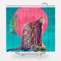 Jaguar Shower Curtain