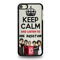 KEEP CALM AND LISTEN TO ONE DIRECTION iPod Touch 6 Case Cover
