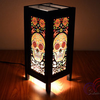 Halloween Lamp Fantasy Skull For Holiday Decoration