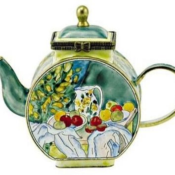 Table with Fruits Mini Teapot by Cezanne - 6135
