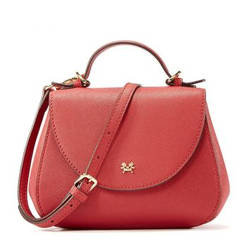 Messenger Bags Split Leather Fashion Saddle Bag Shoulder Bag Cross body Bags