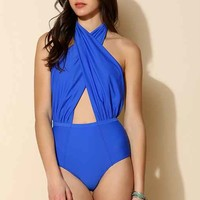 6 Shore Road Cabana One-Piece Swimsuit-