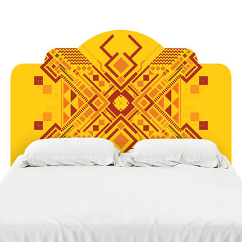 Fracto 5 Headboard Decal
