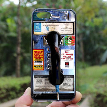 Pay Phone,Old Phone,iphone 4 case,iPhone4s case, iphone 5 case,iphone 5c case,Gift,Personalized,water proof