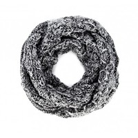 Marled Knit Infinity Scarf