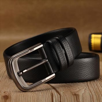 Men's Genuine Leather Belt 2 pack