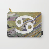 CANCER Carry-All Pouch by KJ Designs