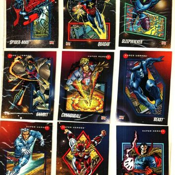 Limited Edition Classic Marvel Universe Series 3 Collectors Cards (Your Pick x3) X-Men 92'