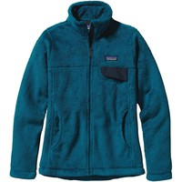 Patagonia Women's Full Zip Re-Tool Jacket / Underwater Blue-Crater Blue