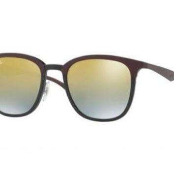 NEW Ray Ban RB4278 6285A7 51 Black Matte Brown Mens Womens Sunglasses Glasses