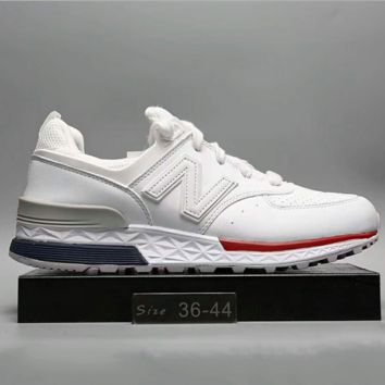 """""""New Balance"""" Fashion Casual All-match N Words Breathable Couple Sneakers Shoes White G-A0-HXYDXPF"""