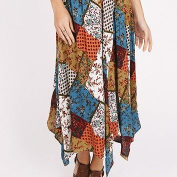 Broken Bow Patchwork Skirt