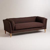 Chocolate Brown Deegan Sofa