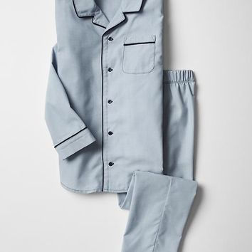 Gap Boys Classic Chambray PJ Set