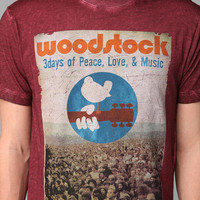 Woodstock Acid Wash Tee