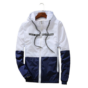 Jackets Women 100% High Quality New Jacket Women's Hooded Women Jacket Fashion Thin Windbreaker Men Outwear good