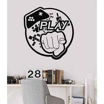 Vinyl Wall Decal Video Game Art Teen Room Gaming Stickers Unique Gift (ig3983)