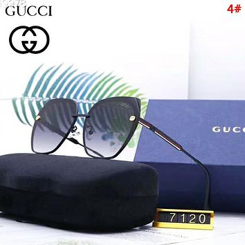 GUCCI Fashion New Polarized Sun Protection Women Men Glasses Eyeglasses 4#