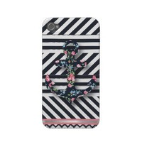 Hello Sailor! Retro Vintage Nautical Floral Anchor Case-mate Iphone 4 Case from Zazzle.com