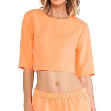 SAM&LAVI Alina Top in Orange