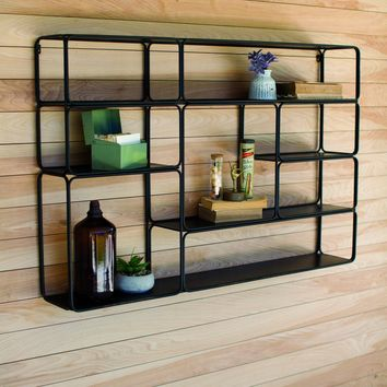 Kaska Large Metal Wall Shelf