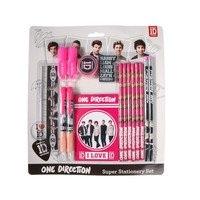 One Direction Pink Bumper Stationery Set