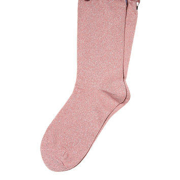 Lurex Crew Sock - PINK - Victoria's Secret