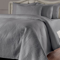 Brielle Stream 3-piece Quilt Set with Extra Sham Separates Sold Separately | Overstock.com Shopping - The Best Deals on Quilts